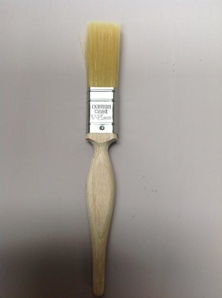 "Autentico 1"" flat brush, double thick"